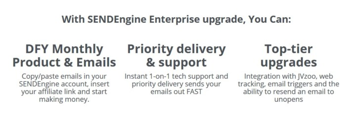 SENDEngine Enterprise Upgrade Upgrade Software by Radu Hahaianu