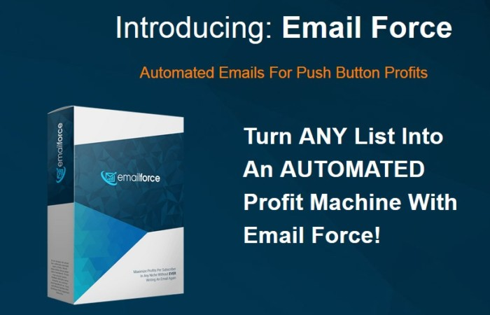 Email Force Copy Generator Software by Simon Harries