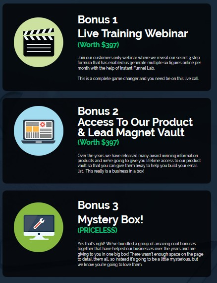 Instant Funnel Lab PRO Funnel Creation Tool Software by Glynn Kosky