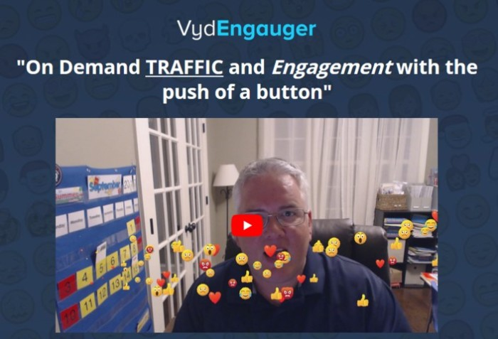 Vyd Engauger Traffic Engagement Software by James Renouf