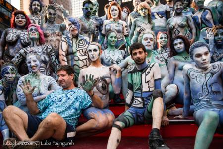 New York Body Paint Day