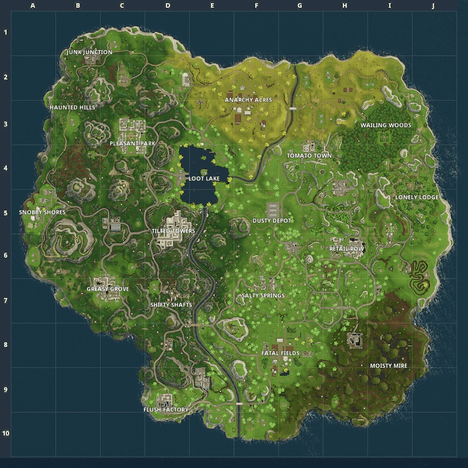 Map Updates in Season 3   Fortnite Wiki Guide   IGN Exit Theatre Mode