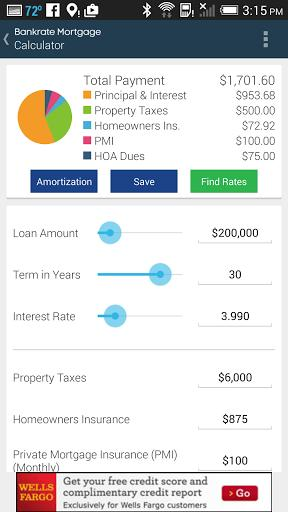 Mortgage Calculator & Rates APK 2.3 - Free Finance App for Android - APK4Fun