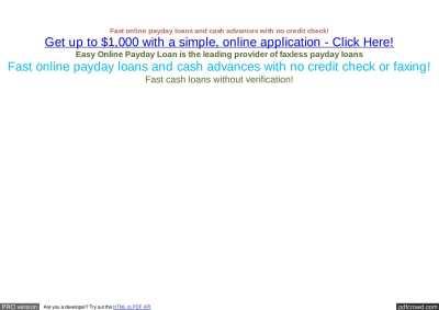 Calaméo - No Credit Loans Online : Online Cash Loans No Credit Check : Payday Lenders Online No ...