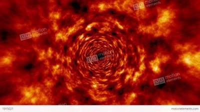 Fire Tunnel Rotating Vortex Fly Through Background 애니메이션 | 1915021