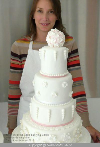 Les créations de mes élèves: atelier Wedding Cake à notre ...