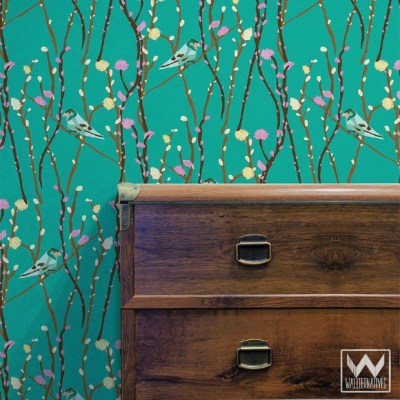 7 Removable Wallpaper Decorating Ideas for Commitment-Issue Spaces | Paint + Pattern