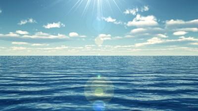 O mar. | Palavra Aguda