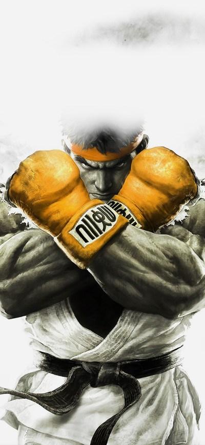 iPhoneXpapers.com-Apple-iPhone-wallpaper-ah70-street-fighter-gold-ryu-art-illust-game