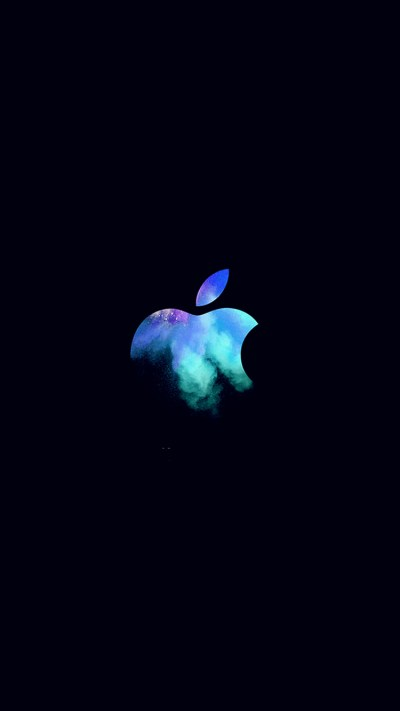 au33-apple-mac-event-logo-dark-illustration-art-blue-wallpaper