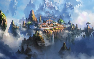 av35-cloud-town-fantasy-anime-liang-xing-illustration-art-wallpaper