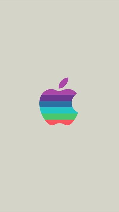 I Love Papers | aw32-minimal-logo-apple-color-white-illustration-art