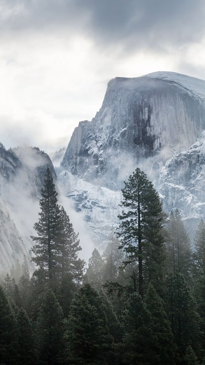 me58-yosemite-snow-mountain-nature - Papers.co