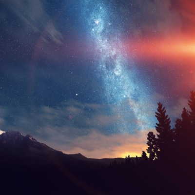 nd08-wonderful-tonight-space-star-sunset-mountain-flare-wallpaper
