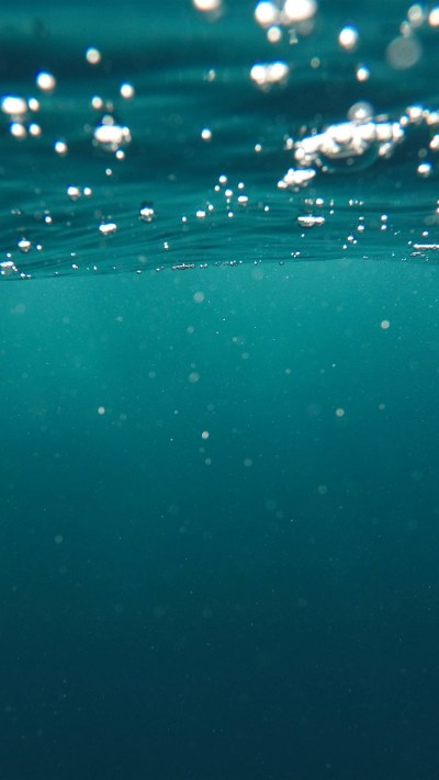 PAPERS.co | iPhone wallpaper | vr19-bubble-underwater-swim-blue-pattern