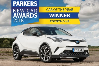 Toyota C-HR named Parkers New Car of The Year 2018 | Parkers