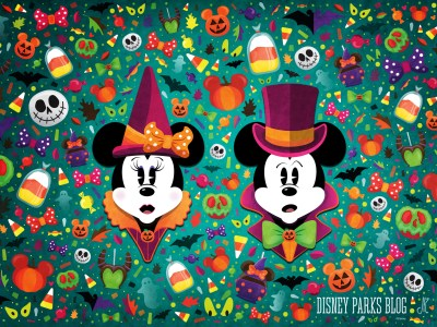 #WonderFALLDisney Halloween Wallpaper – Desktop | Disney Parks Blog