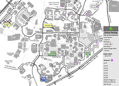 Parking for Campus Visitors   Parking and Transportation Services   UNC Charlotte