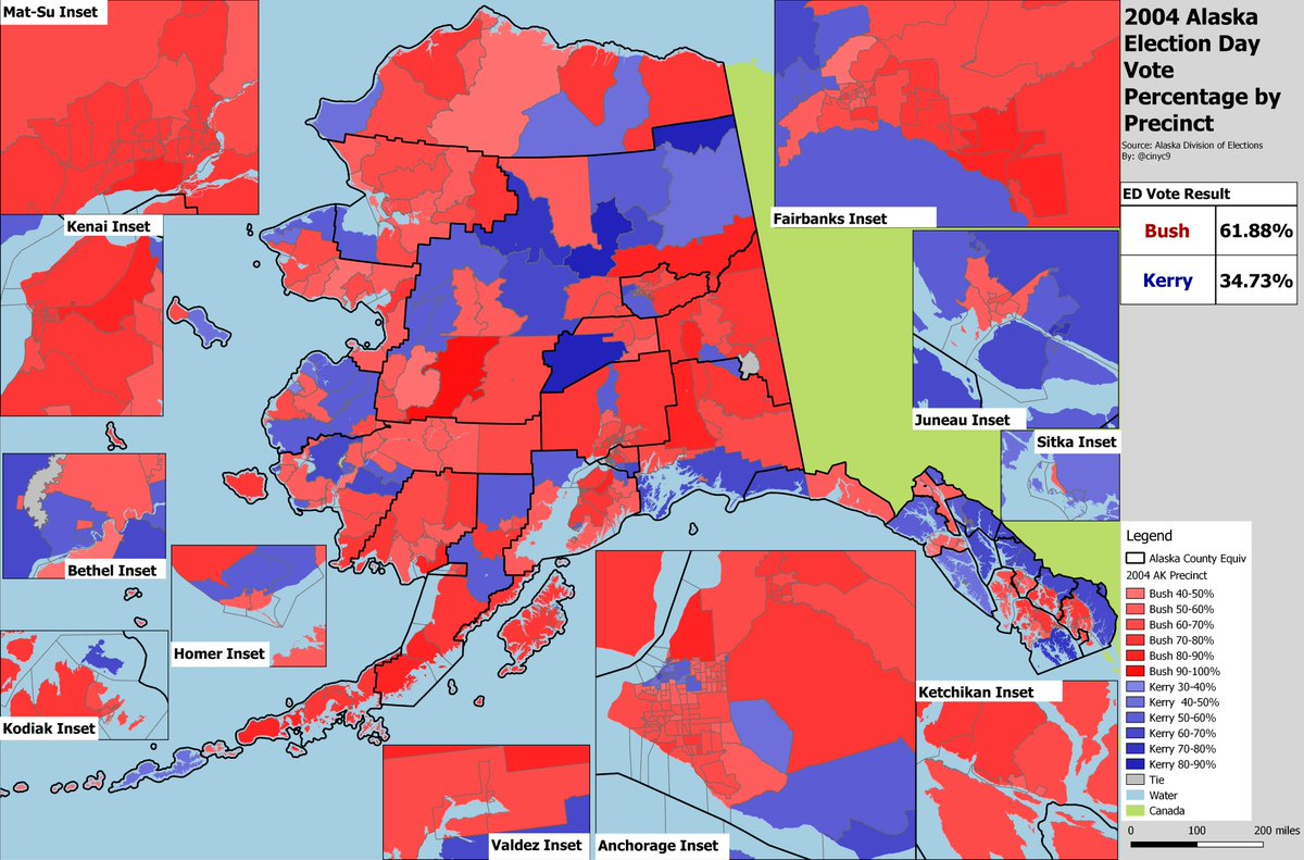 cinyc on Twitter   Continuing the Alaska map project  here s a     1 reply 1 retweet 2 likes