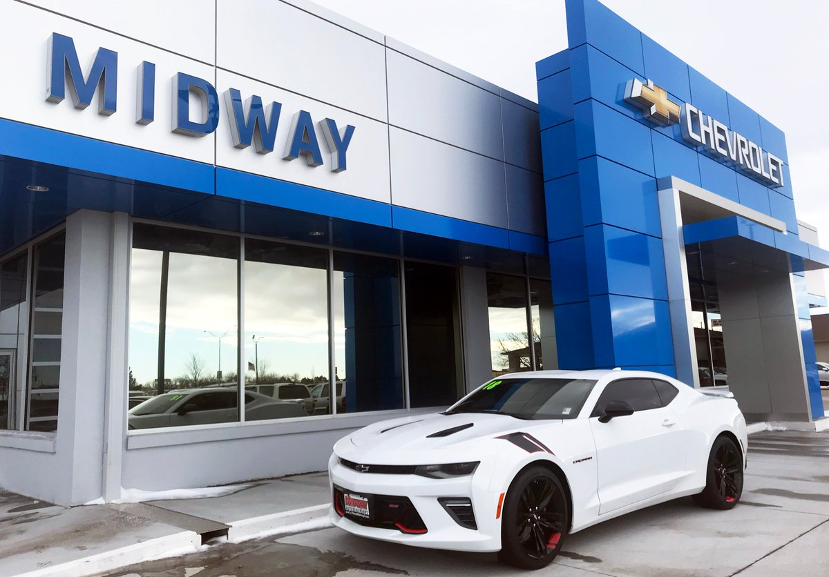 Midway Dealerships on Twitter           JUST IN          2018  Chevy  Camaro     Midway Dealerships on Twitter           JUST IN          2018  Chevy  Camaro  RedLine   SS at Midway Chevrolet Buick GMC Cadillac  See all the details here