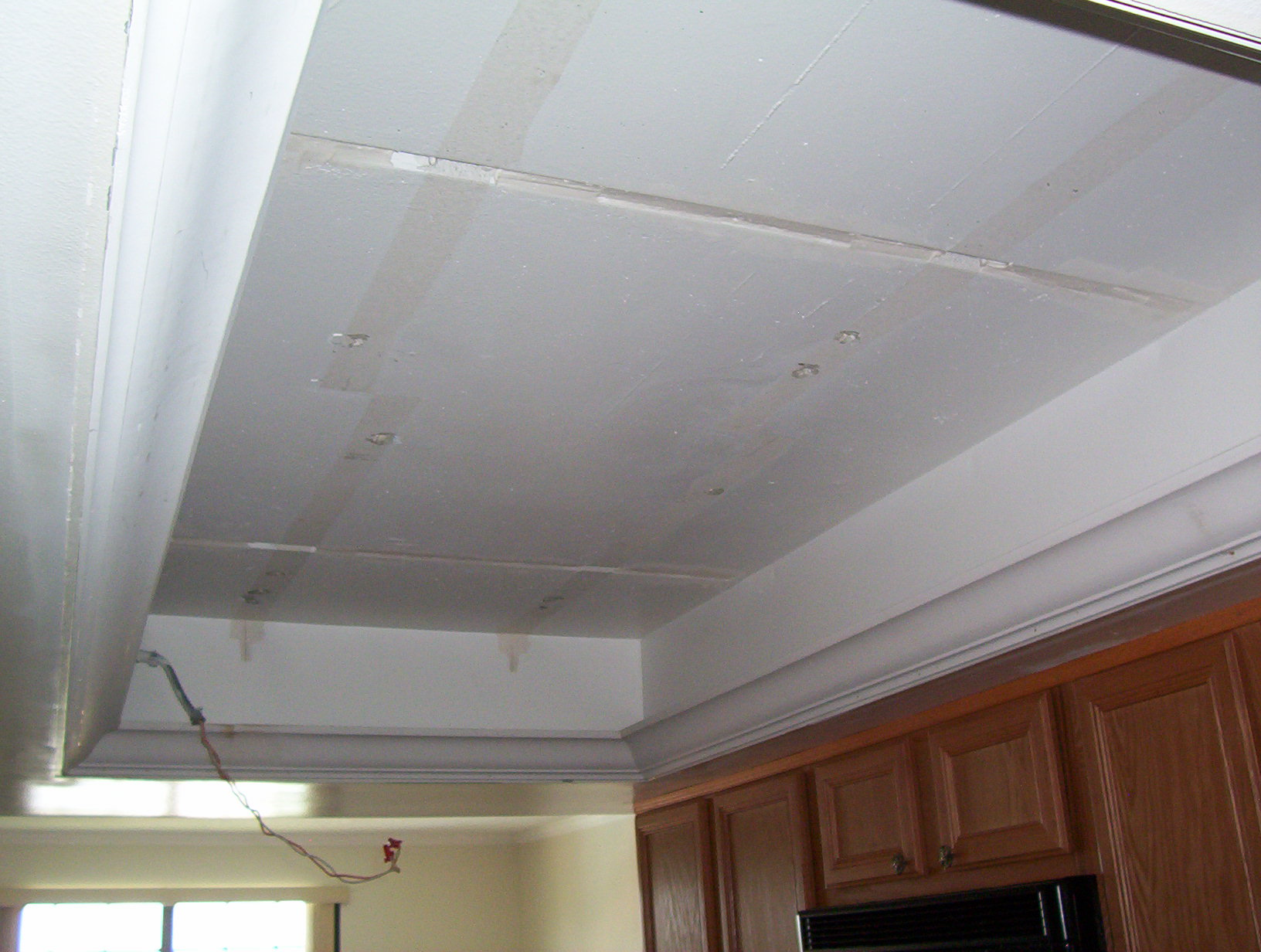 what to do with my old kitchen drop ceiling lighting kitchen overhead lights Kitchen ceiling light removed