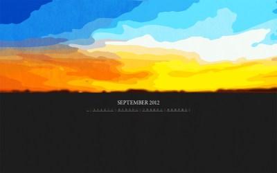Calendar Desktop Wallpaper: September 2012 | petitinvention