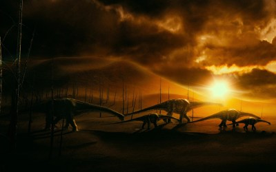 Android Wallpaper: Walking with Dinosaurs