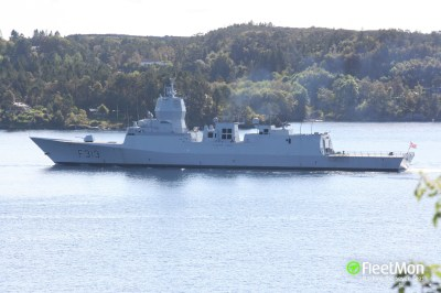KNM Helge Ingstad (Frigate) IMO