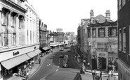 Kingston Upon Thames, Clarence Street c.1965 - Francis Frith
