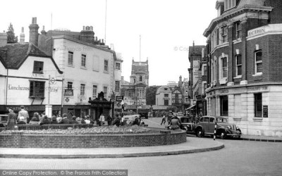 Kingston Upon Thames, Market Place c.1950 - Francis Frith