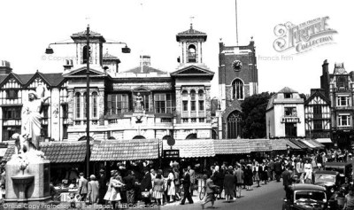 Kingston Upon Thames, The Market Place c.1955 - Francis Frith