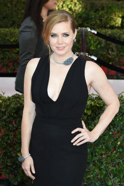 Amy Adams at 2017 SAG Awards following Oscars snub