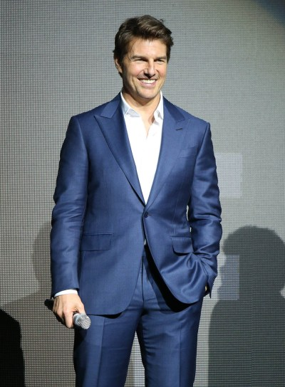 Tom Cruise receives Pioneer of the Year Award at CinemaCon in Vegas