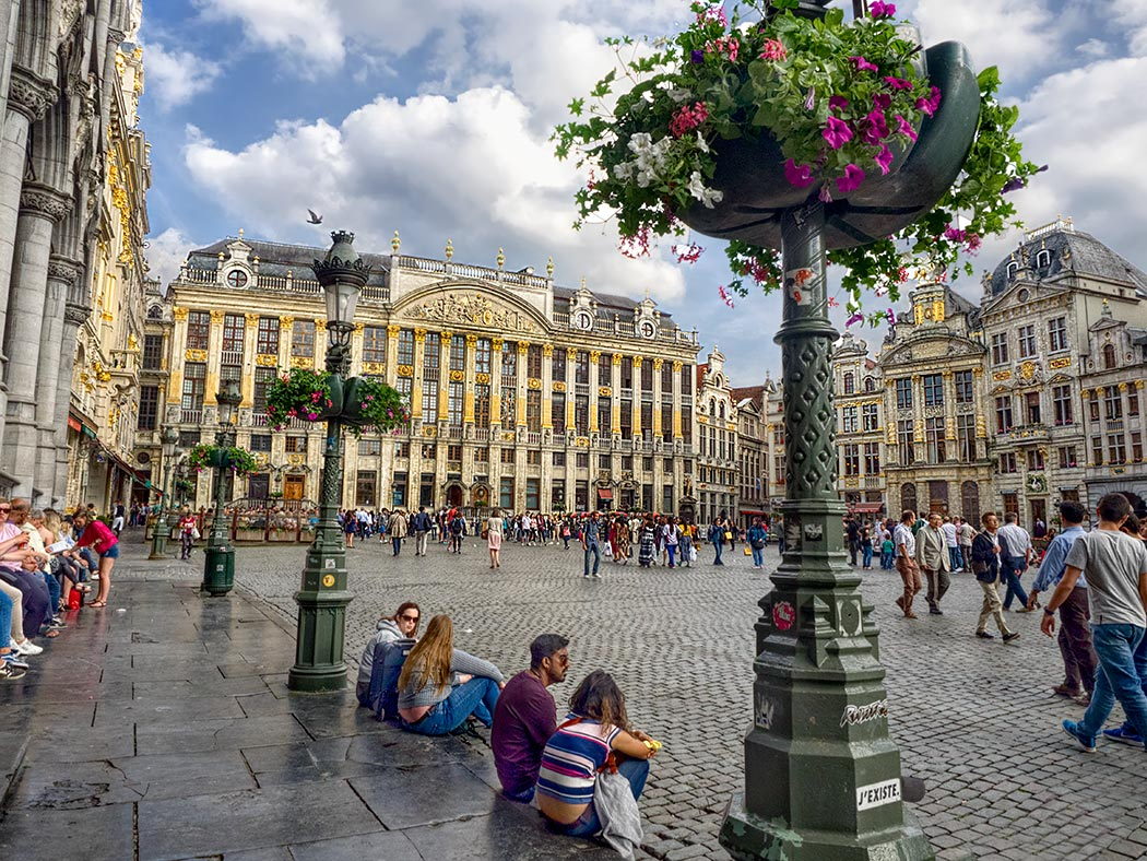 Grand Place in Brussels  Belgium   The Heart of the City The Grand Place in Brussels  Belgium  is the heart of the city