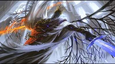 黑暗之魂3高清壁纸1080P欣赏 用余烬燃尽世界的黑暗_当游网