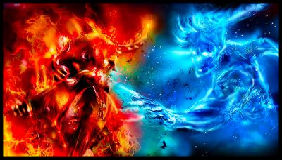 Fire & Ice Image - ID: 213735 - Image Abyss