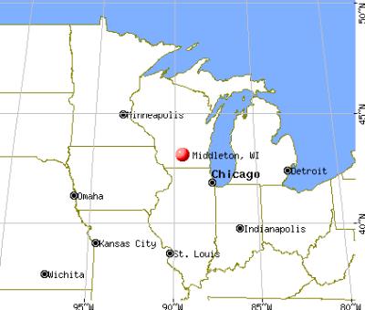 Middleton, Wisconsin (WI 53562) profile: population, maps, real estate, averages, homes ...