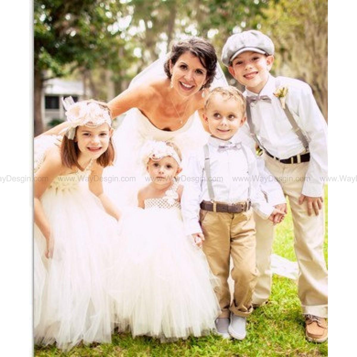 baby dresses for wedding Ivory tutu dress Flower Girl Dress baby dress toddler birthday dress wedding dress
