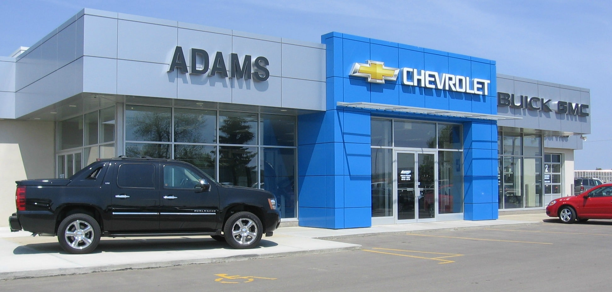 Chevrolet Buick GMC Dealer in Ponoka   Adams Chevrolet Buick GMC Come