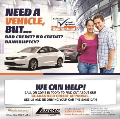 Guaranteed Credit Approval | Peake Wayne County NY