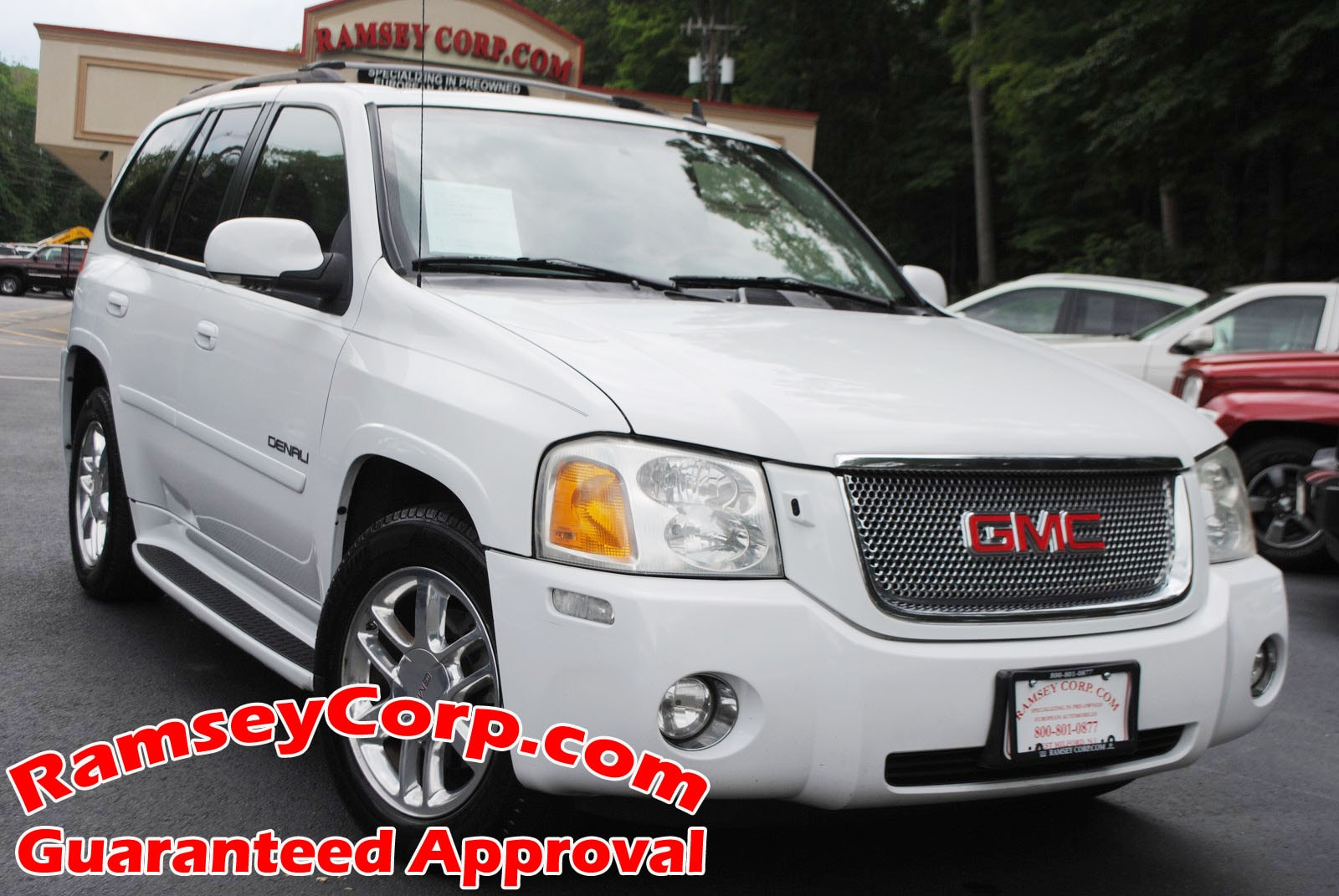 Used 2007 GMC Envoy For Sale   West Milford NJ 2007 GMC Envoy Denali 5 3 SUV