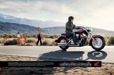 Honda Chain Gang TV Ad [w/video] - Picture 361586 | motorcycle News @ Top Speed
