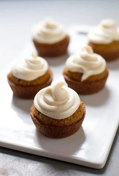 The Best Carrot Cake Cupcakes with Cream Cheese Frosting Recipe - Pinch of Yum