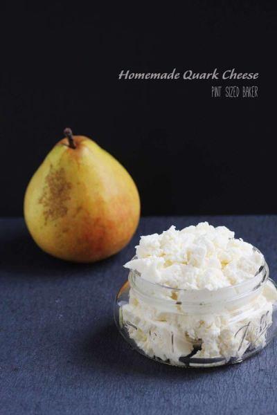 Homemade Quark Cheese - Pint Sized Baker