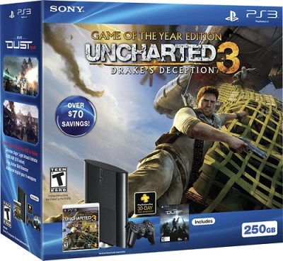Sony PlayStation 3 (250GB) Uncharted 3: Game of the Year Bundle 99106 - Best Buy