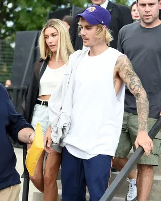 Justin Bieber and Hailey Baldwin Hit Up the Marriage Bureau