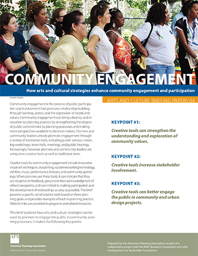 How Arts and Cultural Strategies Enhance Community Engagement and Participation