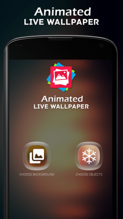 Animated Live Wallpapers App for Android - New Android Photo & Video App