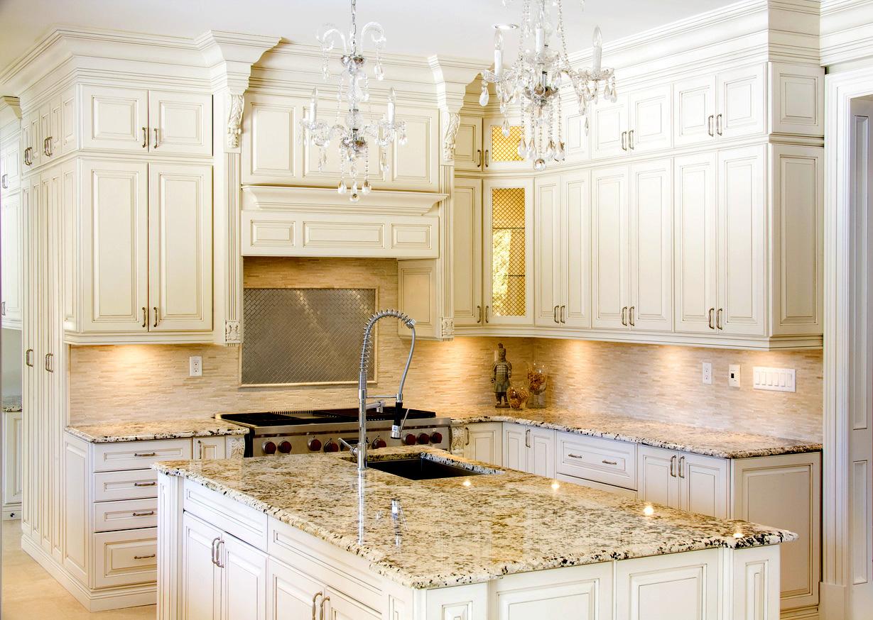 premiergranitecountertop kitchen granite countertops Kitchen White
