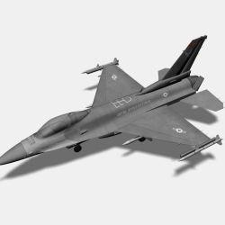 F 16 Fighter Jet 3d Model 10 Oth Obj Max Fbx 3ds Free3d